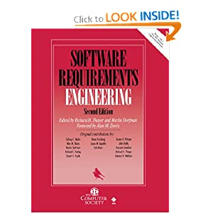 Software Requirements Engineering, 2nd Edition Richard H. Thayer and Merlin Dorfman