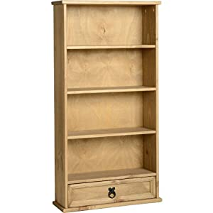 The Best  Corona 1 Drawer Bookcase DVD/CD Rack