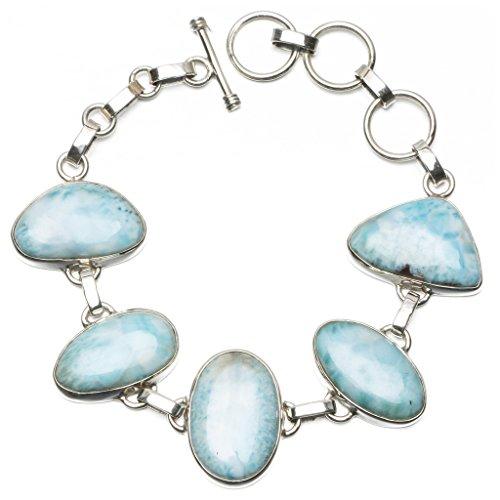 stargemstm-natural-caribbean-larimar-925-sterling-silver-bracelet-6-1-2-7-3-4