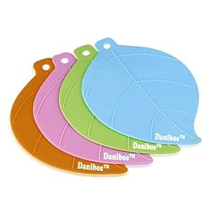 Danibos 4-pack Silicone Pot Holder,trivet Mat, Non Slip, Flexible, Durable, Heat... by Danibos