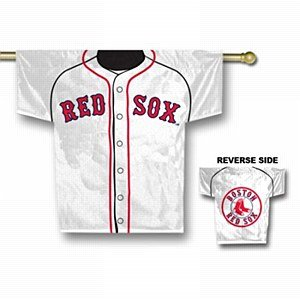 Boston Red Sox 2 Sided Jersey Flag Domestic by Fremont Die