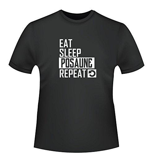 Eat-Sleep-Posaune-Repeat-Herren-T-Shirt-Fairtrade-ID103889