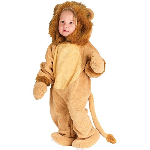 Toddler Lion Halloween Animal Costume (Size: 4T)