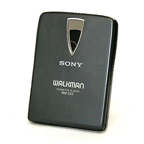 SONY ソニー WM-EX2-B ブラック ポータブルカセットプレーヤー Dolby NR装備 再生専用機(カセットウォークマン)