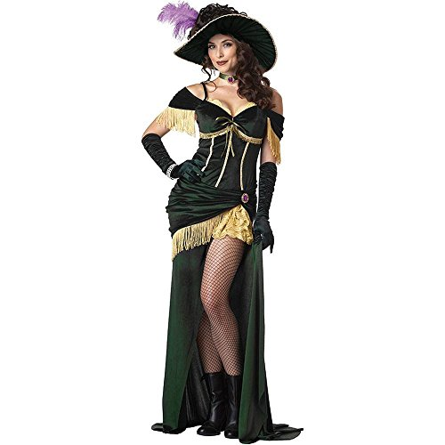 Saloon Madame Costume - Large - Dress Size 10-12