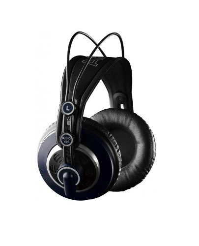 Akg Professional Studio Headphones | K240 Mk Ii With Semi-Open Circumaural Design, Self-Adjusting Headband, Thick Around-Ear Cushions