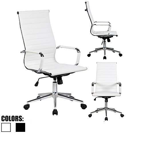 Awe Inspiring 2Xhome 1 Chair Only In Total Office Chair Modern High Import It All Andrewgaddart Wooden Chair Designs For Living Room Andrewgaddartcom