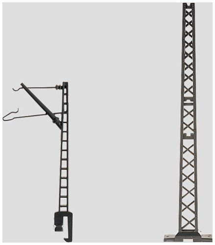 Marklin My World Catenary Bridge Mast (10-Piece), 1-5/8-Inch - 1