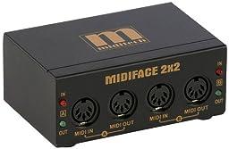 MIDIFace II 1x1 USB MIDI Interface