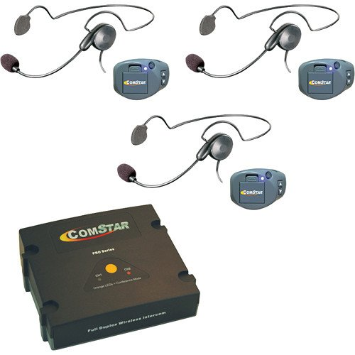 Comstar Digital Full Duplex Wireless With 3 Headsets