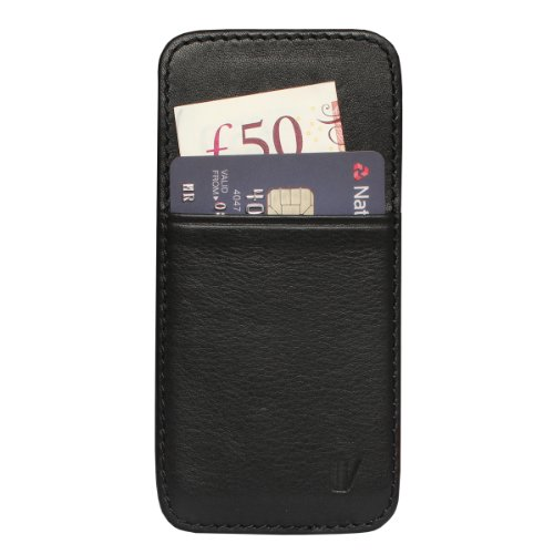 Special Sale Vaultskin Mayfair Pouch Wallet for iPhone 5 & 5S (Black)