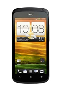 HTC ONE S Smartphone (10,9 cm (4,3 Zoll) AMOLED-Touchscreen, 8 Megapixel Kamera, Android OS) schwarz
