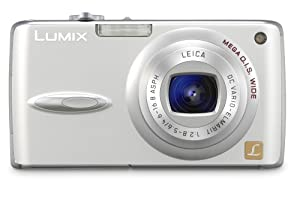 Panasonic DMC-FX01S 6MP Compact Digital Camera with 3.6x Optical Image Stabilized Zoom (Silver)