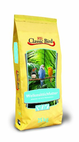 Classic Bird 25000 Wellensittichfutter 25 kg