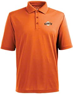 San Francisco Giants Pique Xtra Lite Polo Shirt (Alternate Color) by Antigua