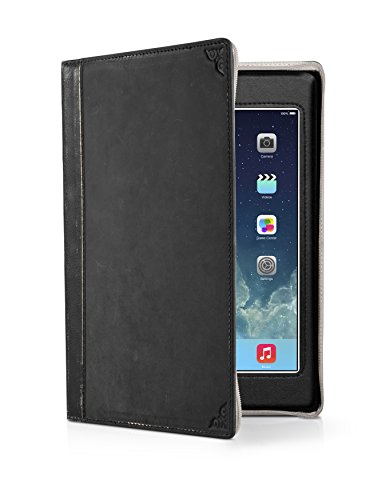 Twelve South Bookbook For Ipad Mini - Vintage Leather Case For Ipad Mini (Classic Black)
