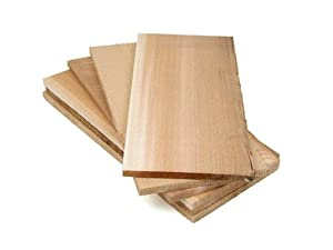 Pacific Northwest Fine Wood Products Set of 6 Cedar Barbecue Planks.