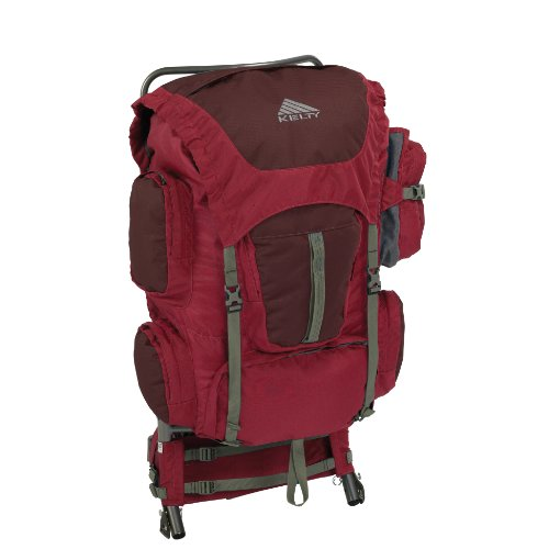 Kelty Trekker External Frame Pack (Java, Medium/Large -16 - 22-Inch Torso)