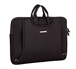 Neopack Handle Sleeve / Slim Bag for All 12 inch Laptops - Silver (HP, Apple Macbook, Sony, Samsung, Lenovo, IBM, Asus, Toshiba, Compaq, Acer)