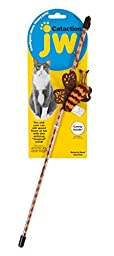 JW Pet Butterfly Wand Cataction Toy