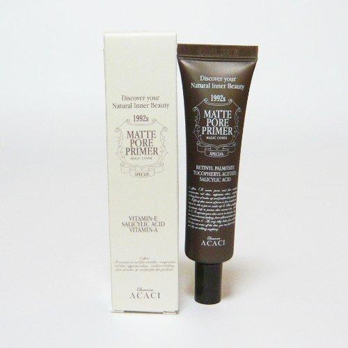 CHAMOS ACACI Repair Skin Care 皮膚再生化粧品 ポアプライマー 肌用下地クリーム Matte Pore Primer 30ml