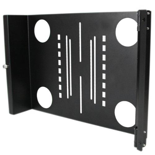 Startech.Com Universal Swivel Vesa Lcd Mounting Bracket For 19-Inch Rack Or Cabinet Computer Case Rklcdbkt (Black)