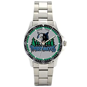 NBA Mens BC-MIN Minnesota Timberwolves Coach Series Watch by Game Time