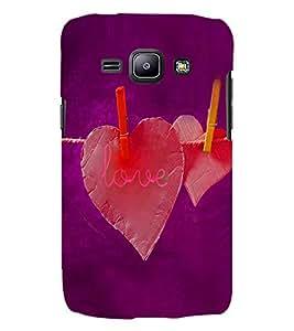 PRINTSWAG LOVE HEARTS Designer Back Cover Case for Samsung Galaxy j2
