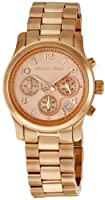 Michael Kors Rose Gold Runway Watch - Women's Watch MK5128 by Michael Kors