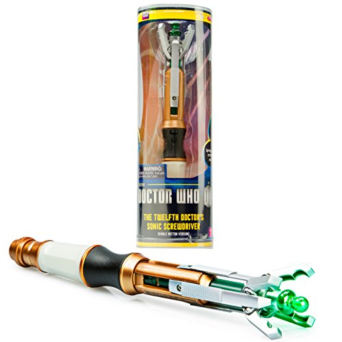 Dr. Who - Doctor Who 12th Doctor's Sonic Screwdriver - Peter Capaldi - With Lights and Sounds
