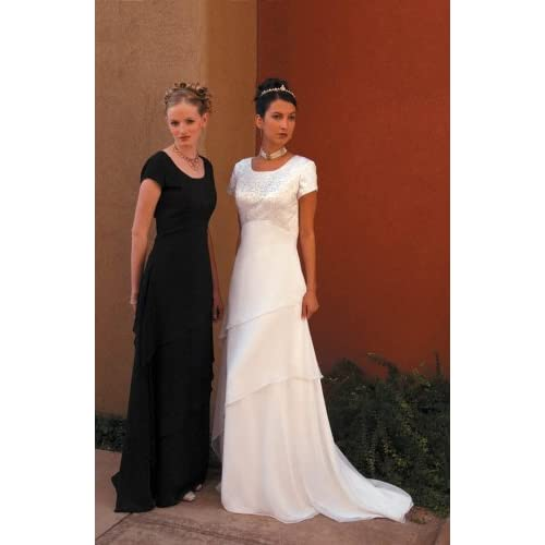informal wedding dress gown