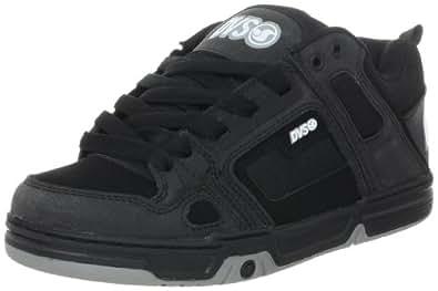 DVS Men's Comanche Skate Shoe,Black Nubuck,7 M US
