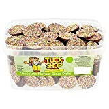 Tuck Shop Chocolate Flavour Disco Disks x 120 Candy Pieces
