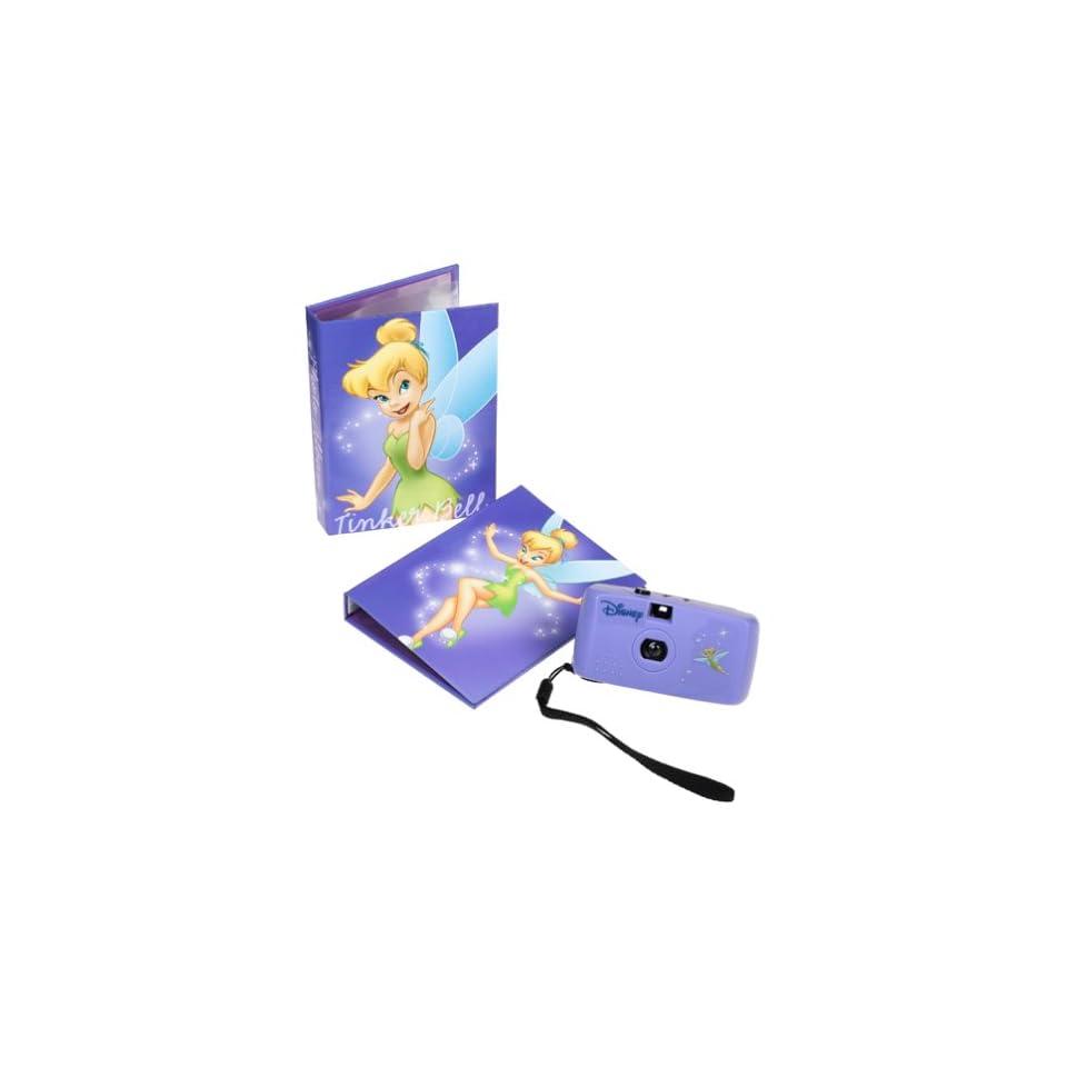 Disney Princess Tinker Bell Gift Set Camera and 2 Photo Albums