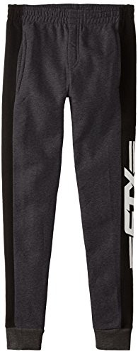 STX Big Boys' Fleece Pull On Lacrosse Pant, Charcoal, 10/12