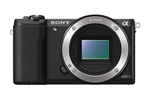 Sony a5100 Interchangeable Lens Camera with 3-Inch Flip Up LCD - Body On