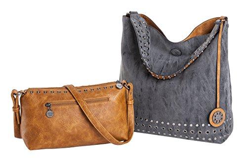 sydney-love-grommet-reversible-hobo-crossbody-bag-set-charcoal-saddle