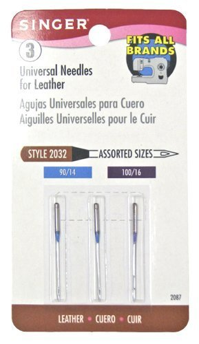Singer Leather Machine Needles (Leather Needles Brother compare prices)