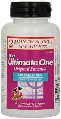 Nu-Life The Ultimate One Original Women 50 Plus Caplets, 60 Count Bottle