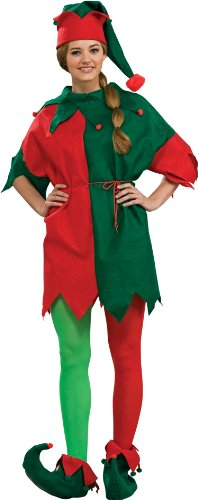 Rubie's Costume Adult Elf Costume 4-Piece Set