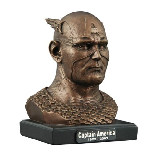 Marvel Commemorative Captain America Head Bust - Buy Marvel Commemorative Captain America Head Bust - Purchase Marvel Commemorative Captain America Head Bust (Marvel Statues, Busts, Prop Replicas, Toys & Games,Categories,Action Figures,Statues Maquettes & Busts)