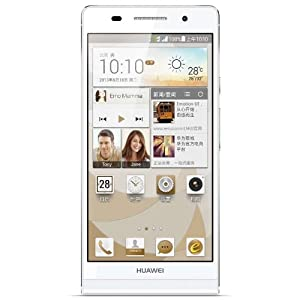 Amazon.com: Huawei Ascend P6 White Color Unlocked smartphone Phone