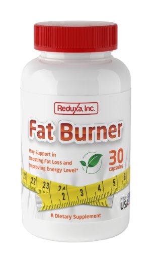 Reduxa Fat Burner Natural Weight Loss Supplement, 30 Count