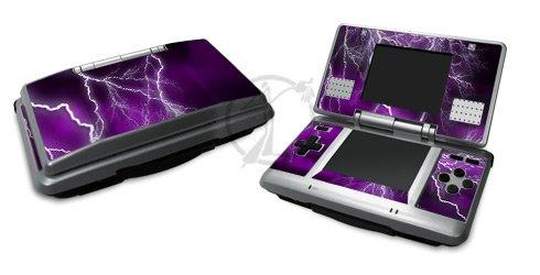 Apocalypse Purple Design Decorative Protector Skin Decal Sticker for Nintendo DS