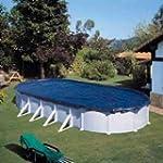 B�che piscine hiver ovale 500 x 300