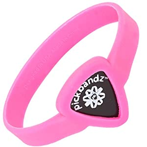 Pickbandz Bracelet Hollywood Pink Small - Guitar Pick Holder Bracelet