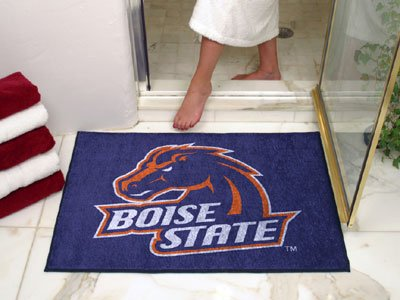 NCAA Boise State Broncos Chromo Jet Printed Rectangular Area Rug Floor Mat 45