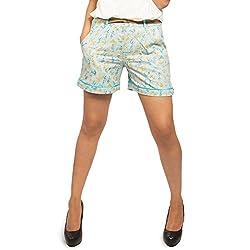 idiotheory Warli Women's Shorts (ITWCWST01_S)