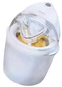 Rival GC8151-WN 1-1/2-Quart Treat Shoppe Electric Ice Cream Maker, White