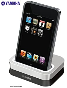 Yamaha Universal iPod Dock Cradle for The Yamaha RX-V365 - RX-V465 - RX-V565 - RX-V665 & RX-V765 Digital Home Theater Receiver - Docking Station Works with All Apple iPod Touch, iPod Nano, iPod Click Wheel, iPod Classic, iPod Mini MP3 / MP4 Players